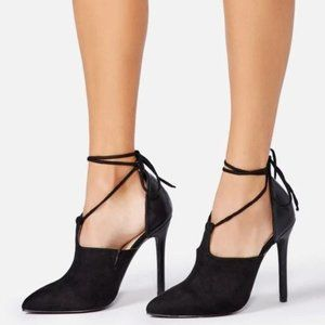 ShoeDazzle Lottie T-Strap Pump